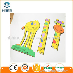 Hot sale kids growth chart kids height measurement wall sticker