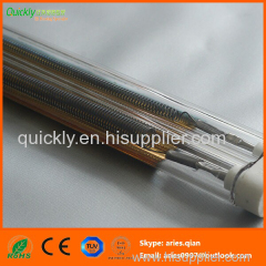 Medium wave heating tube IR emitter