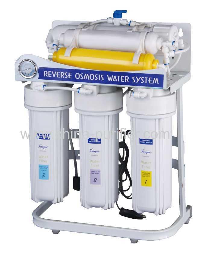 reverse osmosis system with pressure gauge manufacturer supplier. Black Bedroom Furniture Sets. Home Design Ideas
