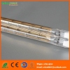 Short wave quartz heating lamp