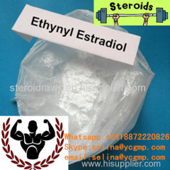 High Purity Raw Estrogen Steroid Powders Ethynyl Estradiol