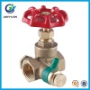 BRASS GATE VALVE WITH DRAINER
