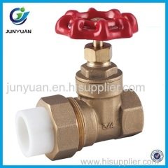 FORGED BRASS PPR GATE VALVE