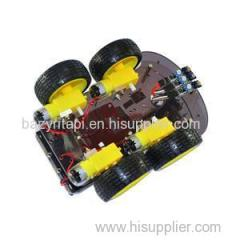 Multi-Functional 4WD Robot Car Chassis Kits UNO R3 170 Point Mini Breadboard For Robot Car