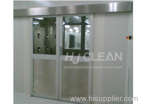 Dust-free Industry cleanroom air shower tunnel