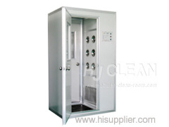 farmaceutica doccia automatica camera bianca foschia