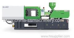 Computer controlled plastic injection moulding machine