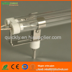Quartz tube Medium wave IR emitter