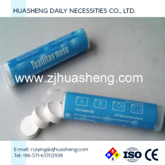 Supplier of Compressed washcloth tissue