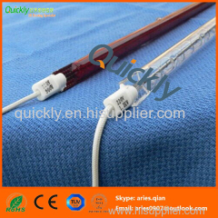 Ruby quartz tube IR emitter