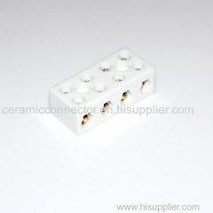 Eight holes ceramic terminal block2