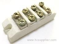 Eight holes ceramic terminal block1