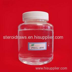 A solvent Poly ethylene Glycol Peg300/Peg 400/ Peg600/Peg1500/Peg1000 dissolving steroids powder