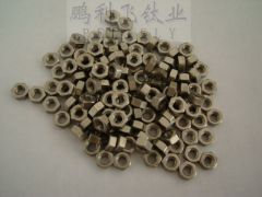 DIN 934 Titanium machined nuts DIN934 GR and GR5 in stock large qty hot sales