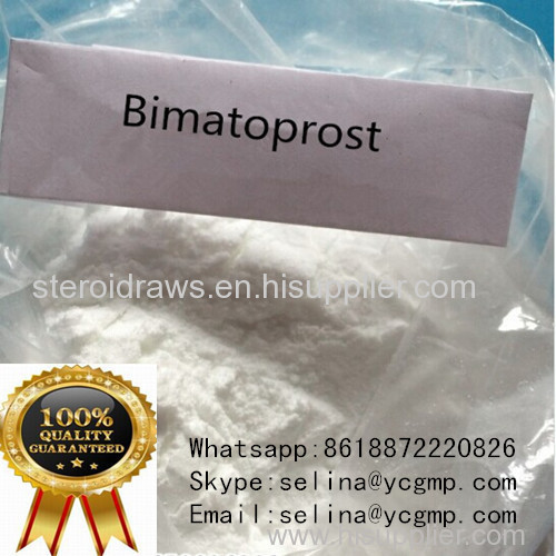 Pharmaceutical Intermediates White Raw Powder Bimatoprost