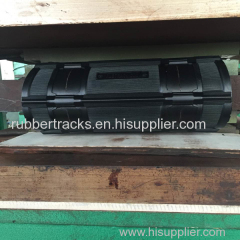 Puyi Rubber Track for Snowmobile with Metal Slider