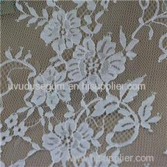 French Lace Fabric Voile Trim Eyelash Fabric (E8038) for Lady′s Dress and Home textile