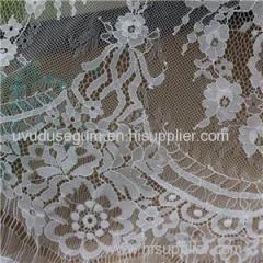 Gauzy Nylon Gallon Lace Fabric (E8037) for Garments and Clothing