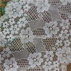 Nylon Spandex 15 Cm Galloon Lace for Garment Accessories and Dresses (J0002)