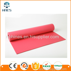 Indoor Fitness Equipment PVC Yoga Mat/Best exercise accessories eco friendly pvc yoga mat for gym