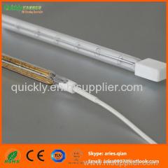 Short wave single tube infrared emitter