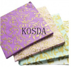 gold/silver stamping virgin pulp paper napkin