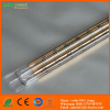 gold coated quartz tubular infrared heater for dryer