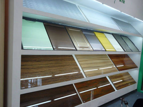 clear and colored PET sheet board for construction and decoration UV type
