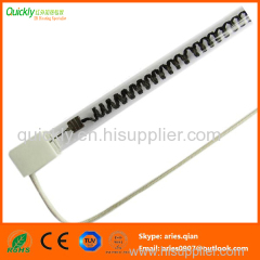 Carbon fiber Single tube infrared heating lamps
