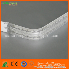 quartz IR heater lamps for printing dryer