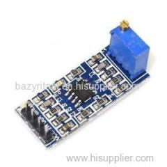 XD-21 100 Times LM358 Gain Amplification Module Operational Amplifier Module