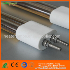 medium wave quartz glass heating lamp