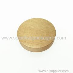 89/400 Beech wood cream jar lid