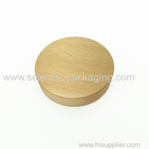 89/400 Beech wood cream jar lid