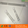twin tube infrared heating element for preheater oven