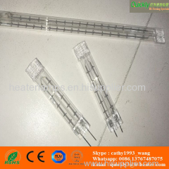 quartz halogen infrared heating element