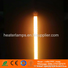 quartz tube infrared radiator