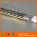 Twin tube carbon fiber infrared heater