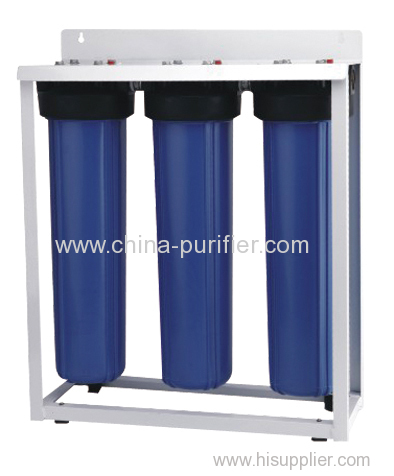 20 inch jumbo housing filter with metal stand
