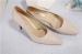 Chaussures habillées en talon pliable