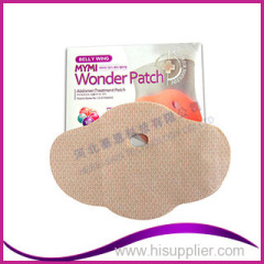 100% Made in Korea 2014 Korea Top Selling Mymi Belly Wonder Patch Slimming Patch