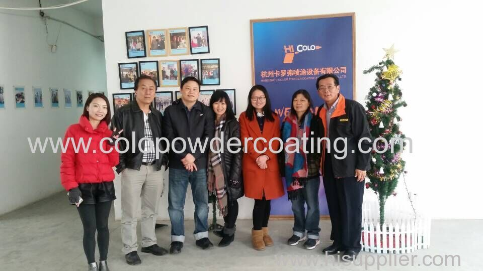 Malaysia's customers visited our company