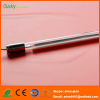 Quartz glass tube infrared lamp