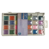 Pearl Watercolor Paint 28 colors in Plastic Box for Painting
