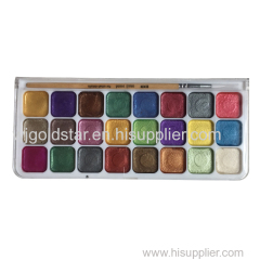 24 ColorsPearl Conjunto de aquarela