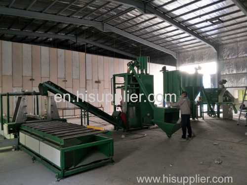 Automatic and high accuracy wet mortar mixer from green building made
