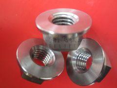 DIN6923 titanium GR5 hexagon flange nuts ISO4161 GB6177-86