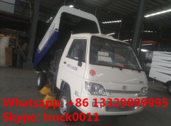 high quality and best price Forland Brand Mini street sweeping truck for sale (0.4m3water tank+1.7m3 dust van)