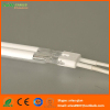 Infrared heating lamp with white reflector