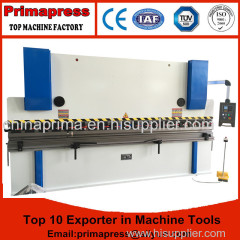 Prima cnc steel stainless press brake machine price for metal